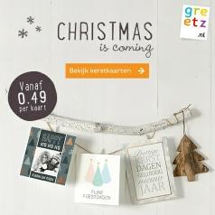 Bekend kaarten en drukwerk - kerst kaartje kerstkaarten #SV94